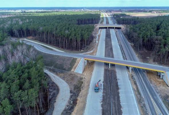 W tym roku otwarcia ponad 85 km nowej S17 między Warszawą a Lublinem