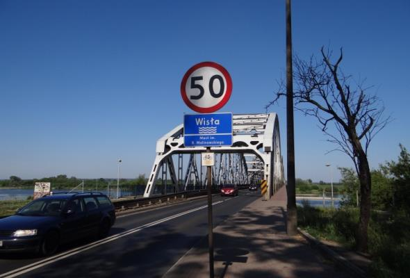 Kujawsko-pomorskie: Od niedzieli utrudnienia na moście w Grudziądzu