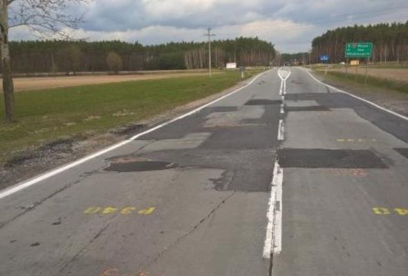 Remont obwodnicy Młodzieszyna w ciągu DK-50