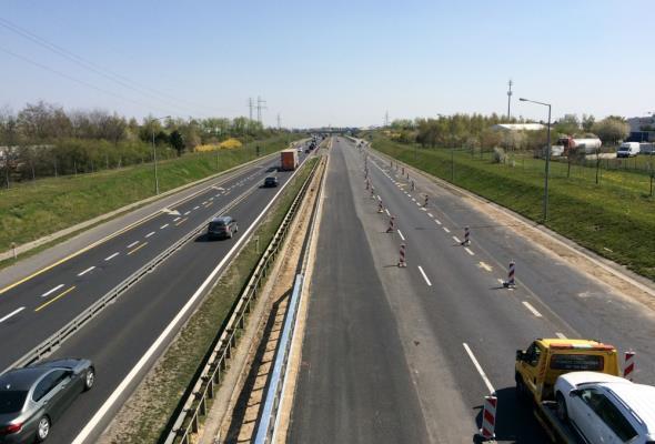 Pierwszy etap rozbudowy A2 – obwodnicy Poznania zakończony