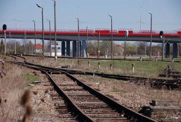 Nowe wiadukty nad stacją Lublin Tatary