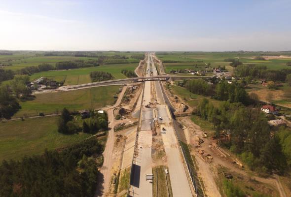 Na A1 powstaje odcinek testowy z betonu zbrojonego kompozytami