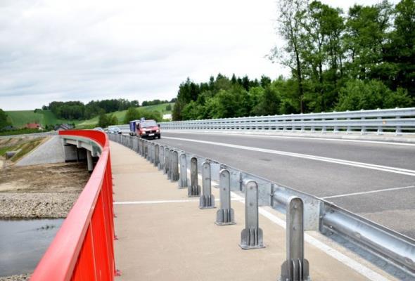 Świętokrzyskie: Kierowcy pojechali obwodnicą Staszowa