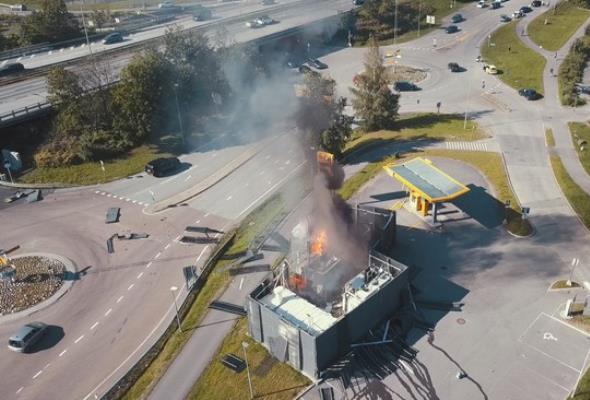 Norwegia: Wybuch stacji tankowania wodoru. Toyota i Hyundai czasowo wstrzymują sprzedaż aut z ogniwami