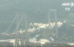 Włochy: Wysadzono pozostałości mostu w Genui