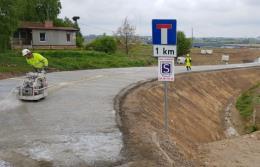 Beton wałowany CEMEX w ramach projektu badawczego przy obwodnicy Olsztyna