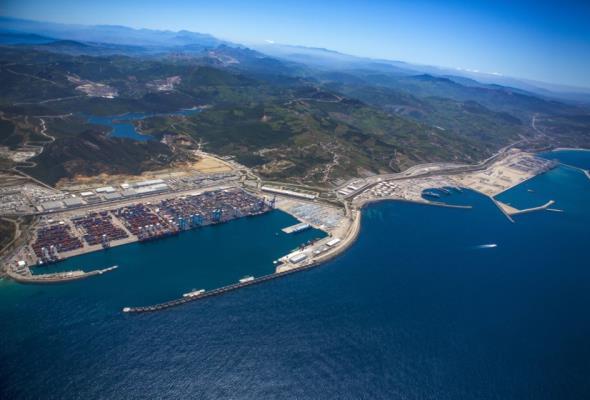 Marokański gigant zdominował Morze Śródziemne. Tanger Med II otwarty
