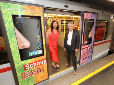 Wiedeń rozpyla perfumy w metrze