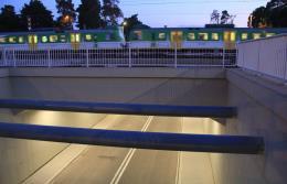 W Otwocku nowy wiadukt kolejowy usprawnił komunikację