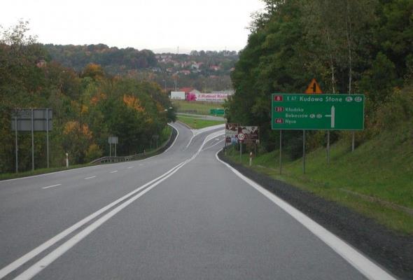 Zaawansowane ale opóźnione prace przy projektowaniu S8 Wrocław – Kłodzko