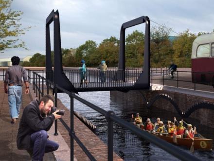 Londyn: Czy powstanie niezwykły most w starych dokach?