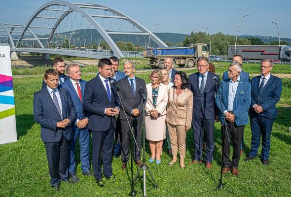 Powstanie trzeci most na Dunajcu w Nowym Sączu