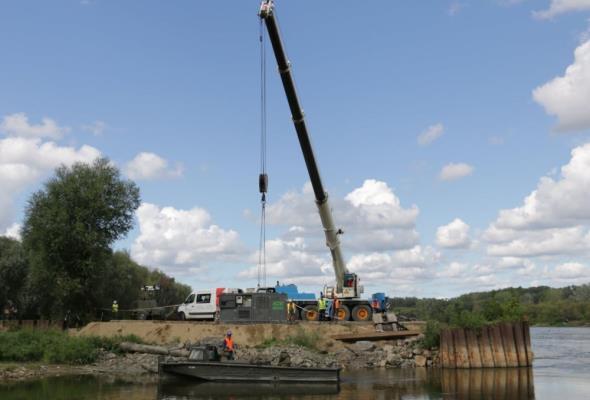 Budimex zaangażowany w prace związane z awaryjnym rurociągiem w Warszawie