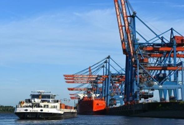 Port Hamburg: Inwestycje w żeglugę śródlądową są możliwe dzięki rozwiniętej kolei