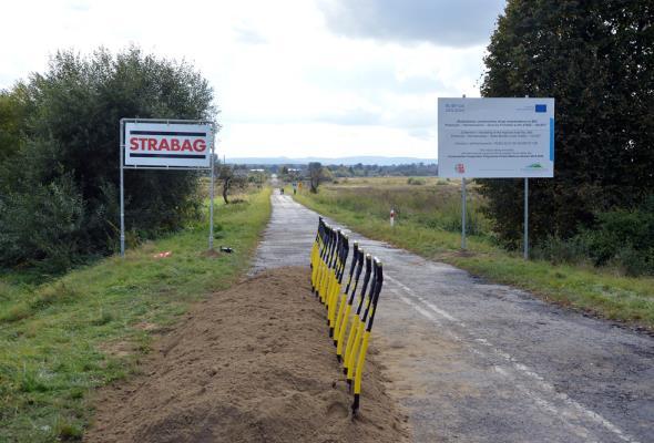 Ruszyła przebudowa DW-885 do granicy z Ukrainą