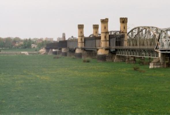 Wstrzymane prace przy Moście Tczewskim