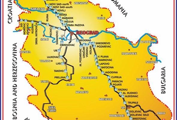 Serbskie opłaty drogowe po raz pierwszy w post-pay