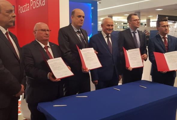 Poczta Polska, Grupa Enea i KZŁ będą współpracować na rzecz elektromobilności