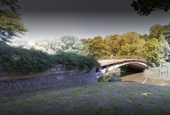 Szczecin: remont mostu w parku Kasprowicza