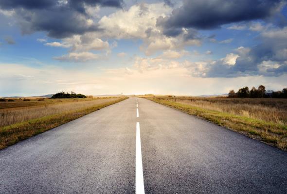Nowa droga między miejscowościami Ruda i Krzeczów