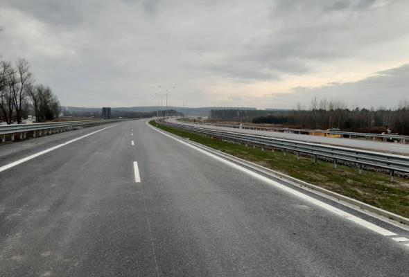 Cały ciąg główny S7 koło Skarżyska ma już nawierzchnię