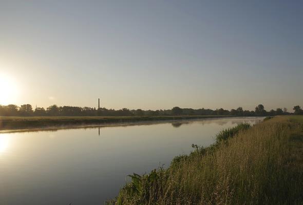 Most na Odrze w powiecie raciborskim z dofinansowaniem