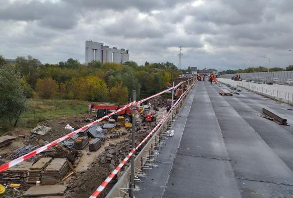 Próby obciążeniowe na moście Lecha. Północna nitka bezpieczna