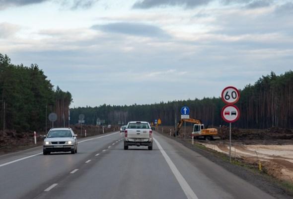 Na S19 od Kraśnika do węzła Lasy Janowskie trwają już roboty ziemne