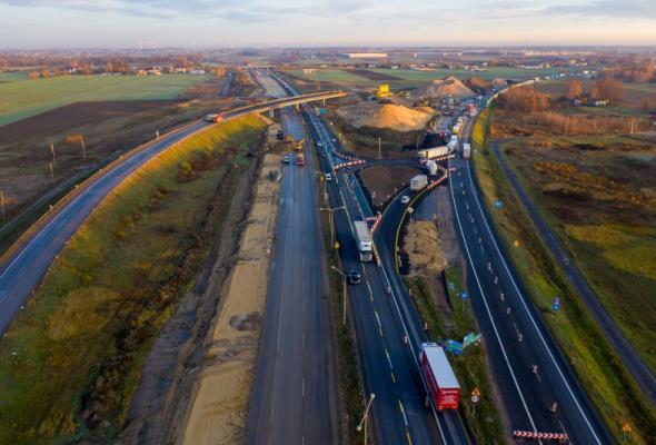 Rozbudowa A1 na kolejnym etapie. Zamknięcie węzła Piotrków Trybunalski Płd.