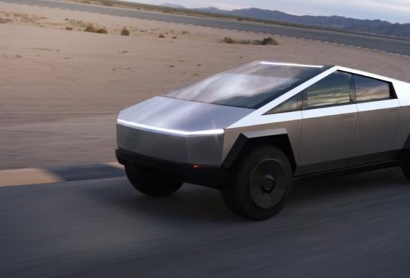 Tesla Cybertruck nie ma pozwolenia na wjazd na unijne drogi