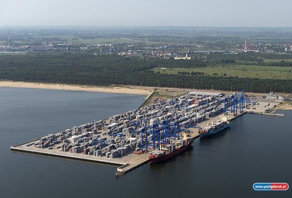 Port Gdańsk w 2019 r. zanotował wzrost o 6,4 proc. rok do roku