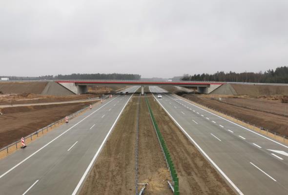GDDKiA: W 2019 roku przybyło 460 km nowych dróg