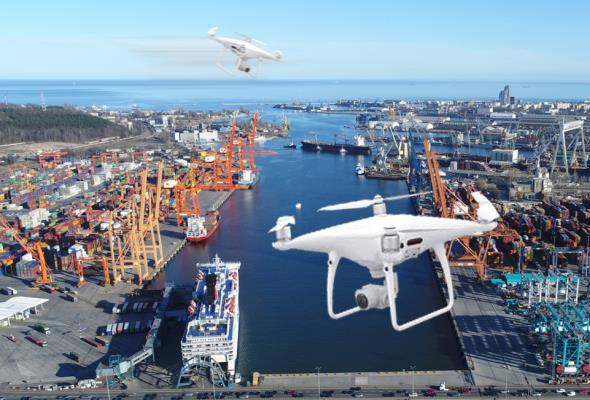 Nowoczesny monitoring w Porcie Gdynia. Wykorzystają drony
