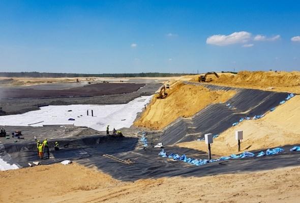 Na Dolnym Śląsku powstaje największy zbiornik deponowania odpadów z flotacji rud miedzi