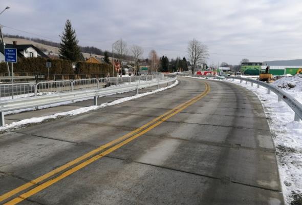W Domaradzu powstaje nowy most. Zamknięty odcinek DK-19