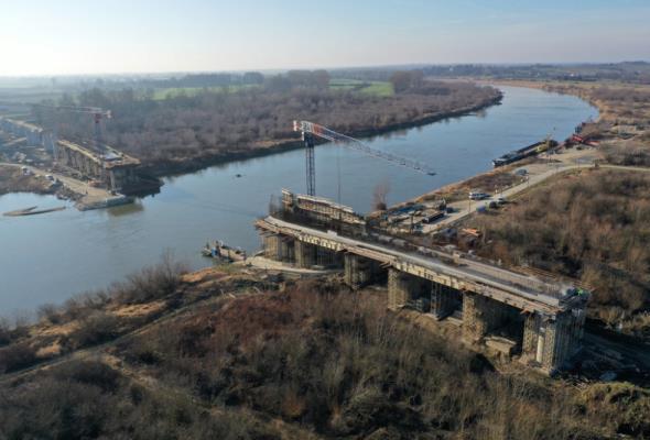 Nowy most w tym roku połączy Małopolskę i woj. świętokrzyskie