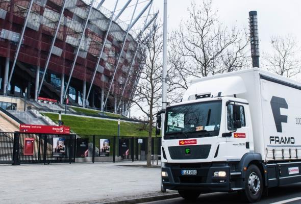 Polskie firmy testują elektryczne ciężarówki
