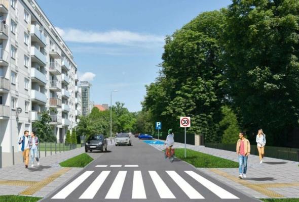 Poznań. Jest koncepcja przebudowy ul. Kolejowej