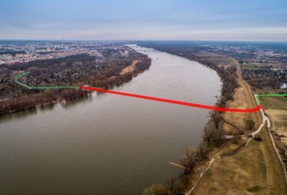 Most Piłsudskiego w Toruniu. Przebudują drogi do tymczasowej przeprawy