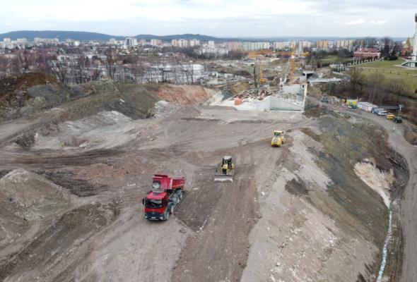 Termin zakończenia Trasy Łagiewnickiej oficjalnie przesunięty