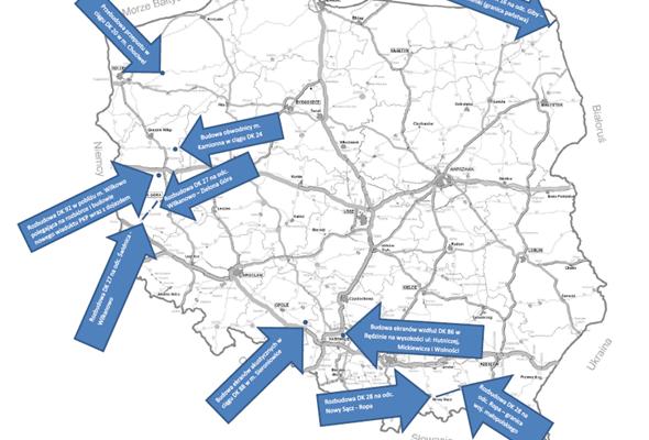 Są nowe programy inwestycji dla dróg krajowych. 582 mln zł na modernizację