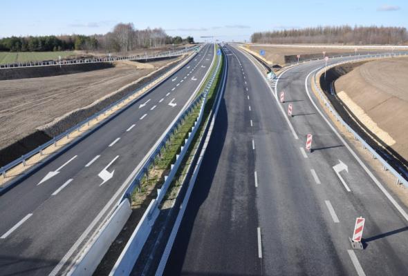 Jest umowa na oświetlenie na A1 w okolicach Częstochowy