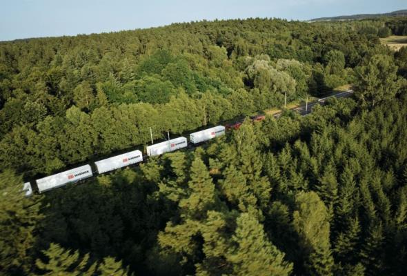 DB Schenker: Nowy pociąg towarowy z prowincji Shandong