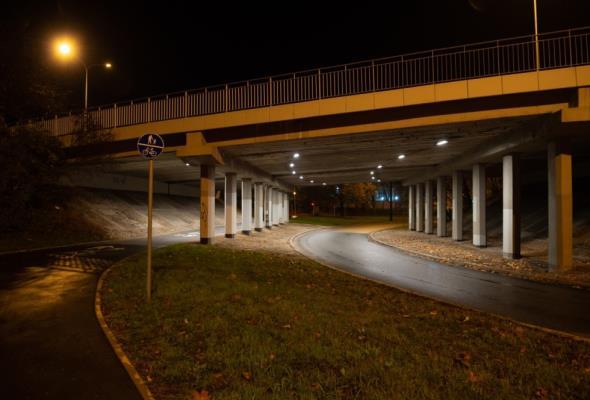 17 tuneli w Warszawie zyskało nowe oświetlenie