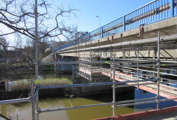 Most w Ujściu na DK-11 wyremontowany