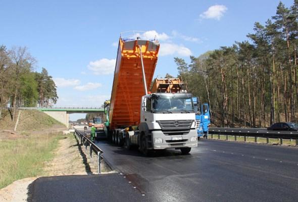 Kolejny etap prac A6 na odcinku Szczecin Dąbie – Rząśnica ukończony
