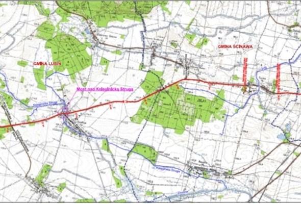 Projektowana jest trasa Lubin – Ścinawa na DK-36