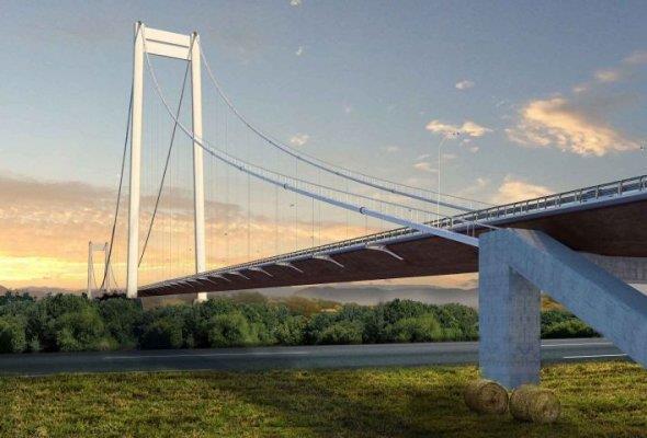 Rumunia. Powstaje wiszący most nad Dunajem