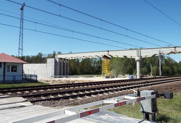 Kolejne wiadukty nad torami Centralnej Magistrali Kolejowej [zdjęcia]