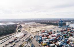 Zbliża się drugi etap rozbudowy bocznicy kolejowej w DCT Gdańsk